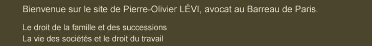 Cabinet LEVI, avocat